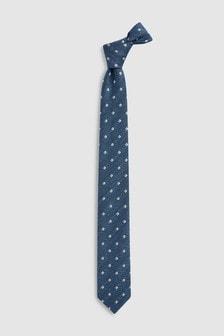Krawatte mit Wappenmotiv