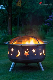 Moon And Stars Firepit by Landmann®