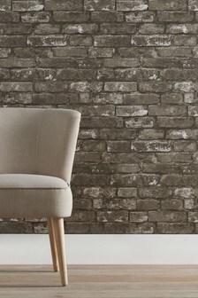 Paste The Paper Grey Bricks Wallpaper