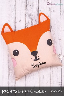 Personalised Fox Novelty Cushion by Loveabode