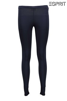 Esprit Blue Knitted Skinny Joggers