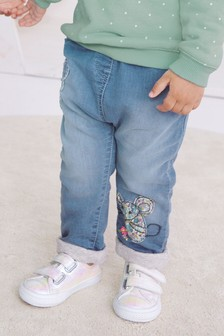 Mouse Appliqué Pull On Jeans (3mths-7yrs)