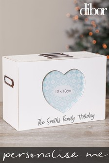 Personalised Photo Memories Storage Box by Dibor