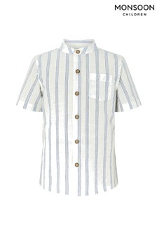 Monsoon Gerry Grandad Stripe Shirt