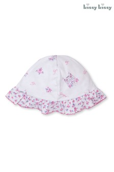 Kissy Kissy Pink Castle Couture Reversible Floppy Hat