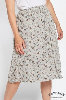 FatFace Ivory Corinne Trailing Floral Skirt