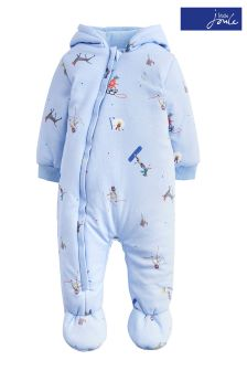 Joules Sky Blue Ski Pups Jersey Pramsuit