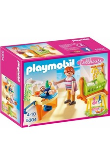 Playmobil® Dollhouse Baby Room With Cradle