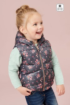 Floral Padded Gilet (3mths-7yrs)