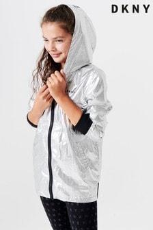 DKNY Silver Hoody Jacket