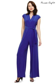 Phase Eight Cobalt Summer Jumpsuit