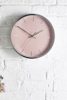 2 Tone Metal Wall Clock
