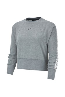 Nike Get Fit Logo Tape Crew Sweater