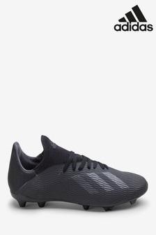 adidas Dark Script Black X Firm Ground Junior & Youth Football Boots