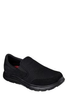 Skechers® Black Flex Advantage SR-Mcallen Shoe