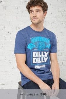Bud Light T-Shirt mit Grafik