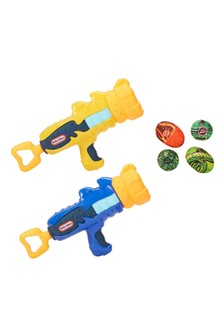 Little Tikes My First Blaster Battle Blasters 2 Pack 656248EUC