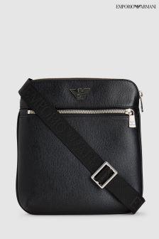 Emporio Armani Black Messenger Bag