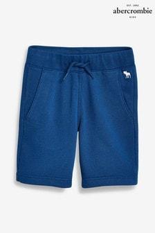 b4abe5bfeabb Abercrombie   Fitch Blue Fleece Icon Short