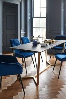 Venetia Black Dining Table
