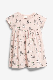 Bunny Print Dress (3mths-7yrs)