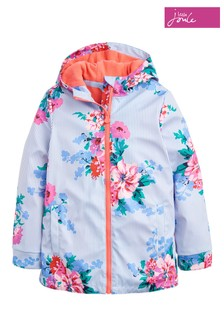 Joules Blue Raindance Rubber Coat