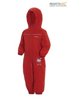 Regatta Red Waterproof Puddle Suit