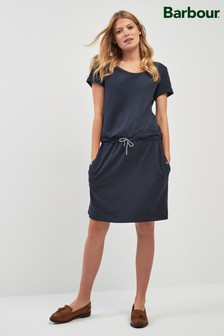 Barbour® Navy Baymouth Dress