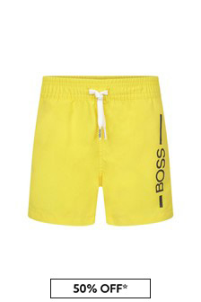 Boss Kidswear BOSS Baby Boys Navy Swim Shorts