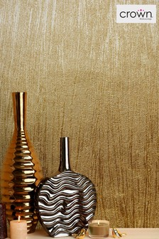 Crown Luxury Foil Lustre Wallpaper