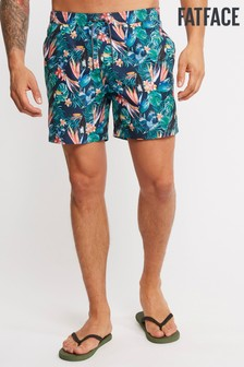 FatFace Blue Daymer Toucan Print Swim Short