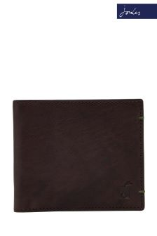 Joules Brown Leather Wallet