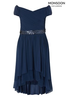 Monsoon Abigail Bardot Prom Dress
