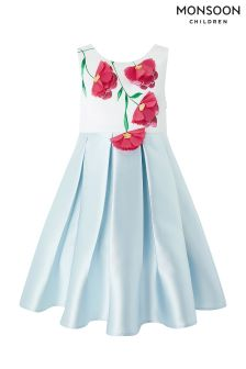Monsoon Blue Esme Flower Dress