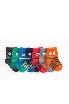 Eyes Socks Seven Pack (Younger)