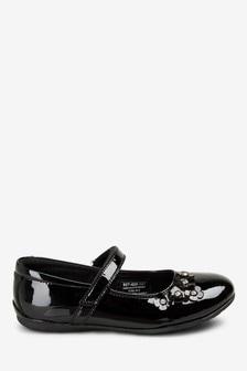 Leather Embellished Mary Jane Shoes (Older)