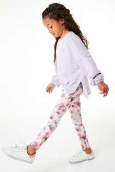 Sweat Top And Sports Leggings Set (3-16yrs)