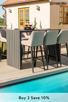 Regal 6 Seat Rectangular Bar Set By Maze Rattan