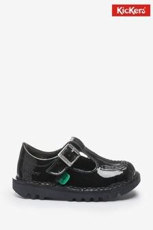 Kickers Infants Patent Leather Kick-T Shoes