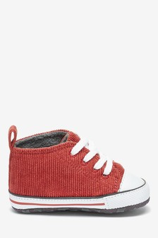 Skate Lace-Up Pram Boots (0-24mths)