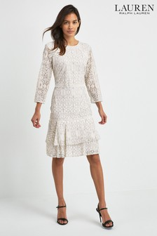 Czarno-biała sukienka Lauren Ralph Lauren® Halima