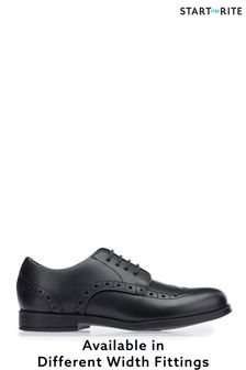 Start-Rite Black Brogue Older