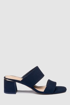 Two Band Trim Detail Mules