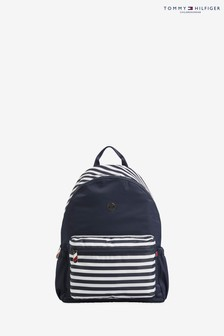 Tommy Hilfiger Blue Baby Changing Backpack