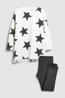 Star Tunic And Leggings (3-16yrs)