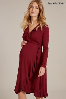 Isabella Oliver Aurelia Maternity Wrap Dress