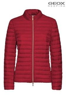 Geox Red W Jaysen Jacket
