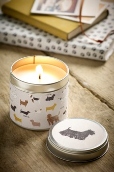 Lemon & Bergamot Dogs Tin Candle