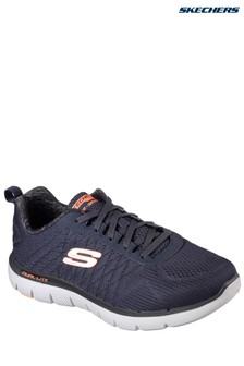 Skechers® Navy Flex Advantage 2.0 Memory Foam Trainer