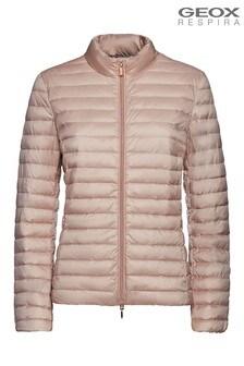 Geox Pink W Jaysen Jacket